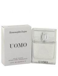 Zegna Uomo Cologne by Ermenegildo Zegna, 1 oz Eau De Toilette Spray
