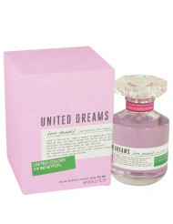 United Dreams Love Yourself Perfume by Benetton, 2.7 oz Eau De Toilette Spray