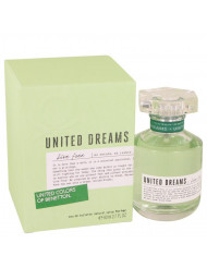 United Dreams Live Free Perfume by Benetton, 2.7 oz Eau De Toilette Spray