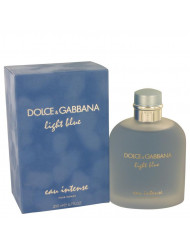 Light Blue Eau Intense Cologne by Dolce & Gabbana, 6.7 oz Eau De Parfum Spray