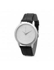 """Stainless Steel """"our Father"""" Prayer Watch"""