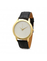 """18K Gold Plated """"our Father"""" Prayer Watch"""
