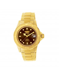 Invicta Men's 11240 Pro Diver Automatic 3 Hand Brown Dial Watch