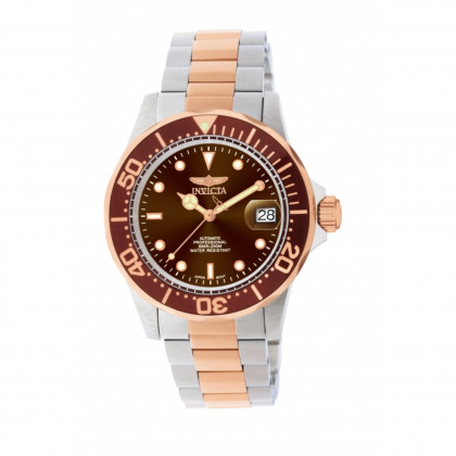 Invicta Men's 11241 Pro Diver Automatic 3 Hand Brown Dial Watch