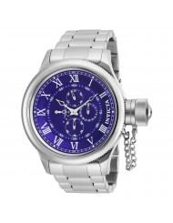Invicta Men's 17665 Russian Diver Quartz Chronograph Blue Dial Watch