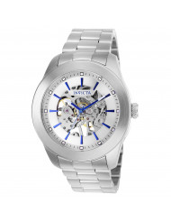 Invicta Men's 25758 Vintage Mechanical 3 Hand Silver Dial Watch