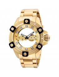 Invicta Men's 26486 Reserve Mechanical 2 Hand Gold Dial Watch