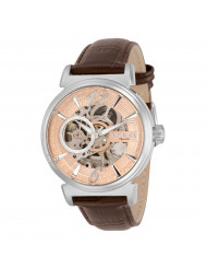 Invicta Men's 30457 Objet D Art Automatic Multifunction Rose Gold Dial Watch