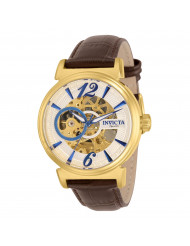 Invicta Men's 30462 Objet D Art Automatic Multifunction Silver Dial Watch