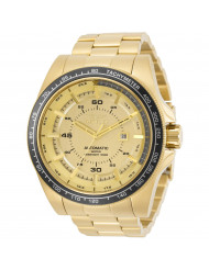 Invicta Men's 30519 Speedway Automatic 3 Hand Gold Dial Watch