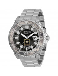Invicta Men's 31851 U.S. Army Automatic Chronograph Black, Camouflage Dial Watch