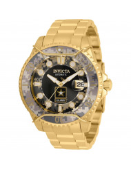 Invicta Men's 31853 U.S. Army Automatic Chronograph Black, Camouflage Dial Watch