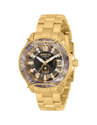 Invicta Women's 31857 U.S. Army Automatic Chronograph Black, Camouflage Dial Watch