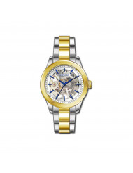 Invicta Women's 32309 Vintage Mechanical 3 Hand Silver Dial Watch