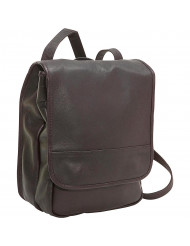 Convertible Backpack/Shoulder Bag - AC-31-Cafe