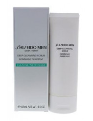Men Deep Cleansing Scrub by Shiseido for Men - 4.2 oz Scrub