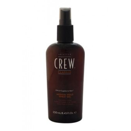 Spray Gel - Medium Hold by American Crew for Men - 8.45 oz Gel
