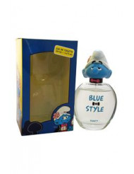 The Smurfs Blue Style Vanity by First American Brands for Kids - 3.4 oz EDT Spray