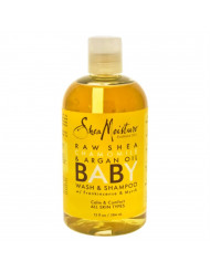 Raw Shea Chamomile & Argan Oil Baby Body Wash Shea Moisture Body Wash for Kids 13 oz
