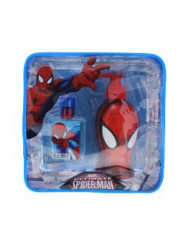 Ultimate Spider Man by Marvel for Kids - 2 Pc Gift Set 1.7oz EDT Spray, 8.5oz Shower Gel & Toiletry Bag Gift