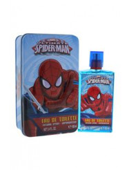 Ultimate Spider Man by Marvel for Kids - 2 Pc Gift Set 3.4oz EDT Spray, With Metal Box