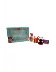 Elena Of Avalor by Disney for Kids - 4 Pc Gift Set 3.4oz EDT Spray, Mirror & Brush, Hair Accessories, Hair Bands