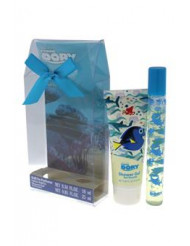Finding Dory by Disney for Kids - 2 Pc Gift Set 0.34 oz Roll On Perfume, 0.85oz Shower Gel