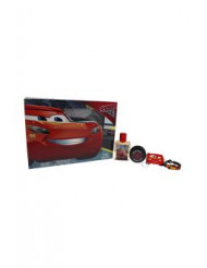 Pixar Cars 3 by Disney for Kids - 4 Pc Gift Set 1.7oz EDT Spray, Bracelet, Key Ring, Yoyo