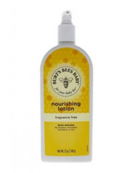 Baby Bee Nourishing Lotion Fragrance Free by Burt's Bees for Kids - 12 oz Lotion