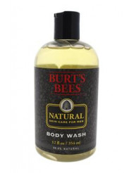 Natural Skin Care for Men Body Wash by Burt's Bees for Men - 12 oz Body Wash