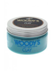 Matte Finish Clay by Woody's for Men - 3.4 oz Styling