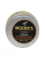 Flexible Styling Cream by Woody's for Men - 3.4 oz Styling Cream