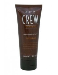Classic Superglue Hair Gel by American Crew for Men - 3.3 oz Gel
