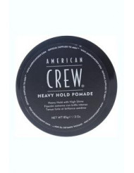 Heavy Hold Pomade by American Crew for Men - 3 oz Pomade