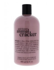 Pink Frosted Animal Cracker Shampoo Bath & Shower Gel by Philosophy for Unisex - 16 oz Cleanser