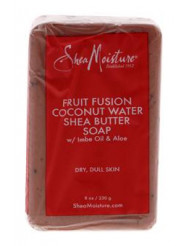 Fruit Fusion Coconut Water Energizing Shea Butter Soap by Shea Moisture for Unisex - 8 oz Bar Soap