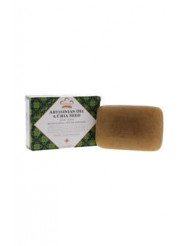 Abyssinian & Chia Seed Bar Soap by Nubian Heritage for Unisex - 5 oz Bar Soap