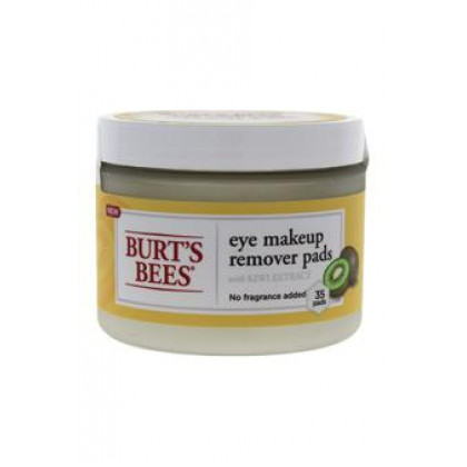 Eye Makeup Remover Pads - Kiwi Extract by Burt's Bees for Unisex - 35 Pc Pads