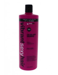 Vibrant Sexy Hair Sulfate-Free Color Lock Shampoo by Sexy Hair for Unisex - 33.8 oz Shampoo