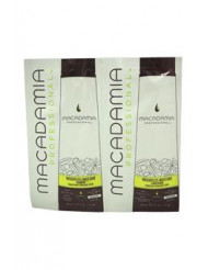 Professional Weightless Moisture Shampoo & Conditioner Duo by Macadamia for Unisex - 2 x 0.34 oz Shampoo & Conditioner