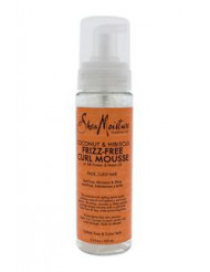 Coconut & Hibiscus Frizz-Free Curl Mousse by Shea Moisture for Unisex - 7.5 oz Mousse