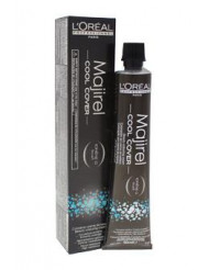 Majirel Cool Cover - # 8 Light Blonde by L'Oreal Professional for Unisex - 1.7 oz Hair Color