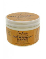 Raw Shea Butter Deep Treatment Masque by Shea Moisture for Unisex - 12 oz Masque