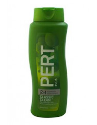 Classic clean 2 in 1 Shampoo & Conditioner For Normal Hair by Pert Plus for Unisex - 25.4 oz Shampoo & Conditioner