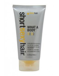 Short Sexy Hair What A Body Blow Dry Gel by Sexy Hair for Unisex - 5.1 oz Gel