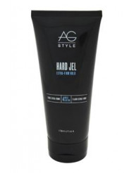 Hard Jel Extra-Firm Hold by AG Hair Cosmetics for Unisex - 6 oz Gel