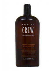 Power Cleanser Style Remover Shampoo by American Crew for Unisex - 33.8 oz Shampoo