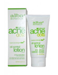 Acne Dote Oil Control Lotion by Alba Botanica for Unisex - 2 oz Lotion