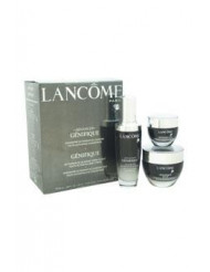 Advanced Genifique Youth Activating Skin Care Power of 3 - All Skin Types by Lancome for Unisex - 3 Pc Set 1.69oz Advanced Genifique Youth Activating Concentrate, 1.7oz Genifique Repair Youth Activating Night Cream, 0.5oz Genifique Eye Youth Activating Ey