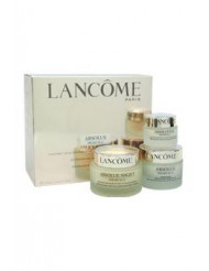 Absolue Premium Bx - Replenishing and Rejuvenating Day-Night & Eyes Ritual Set by Lancome for Unisex - 3 Pc Set 1.7oz Absolue Premium Bx Sunscreen Broad Spectrum SPF 15 Replenishing and Rejuvenating Day Cream, 2.6oz Absolue Night Premium Bx Replenishing a